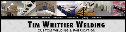 Tim Whittier Welding